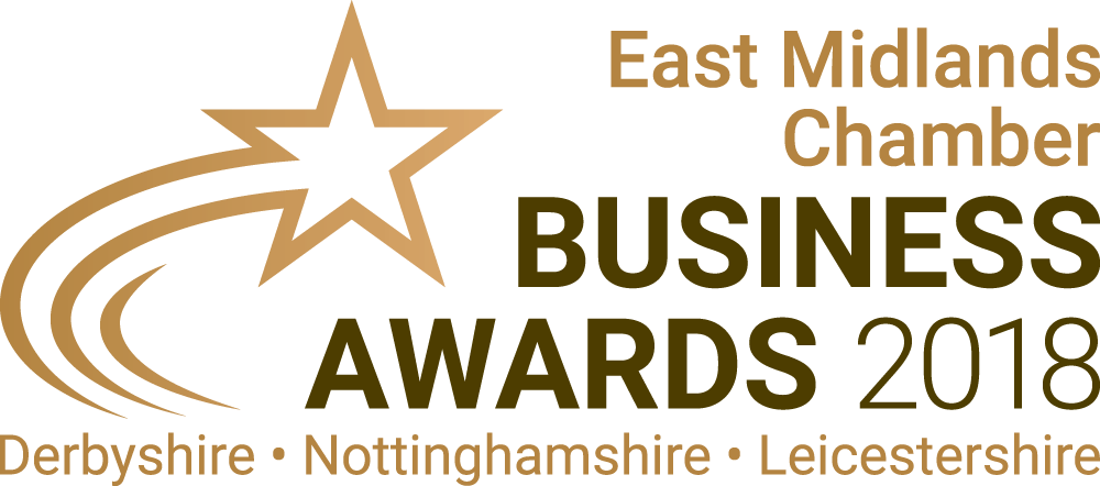 Business Awards 2018 Logo Regular East Midlands Chamber