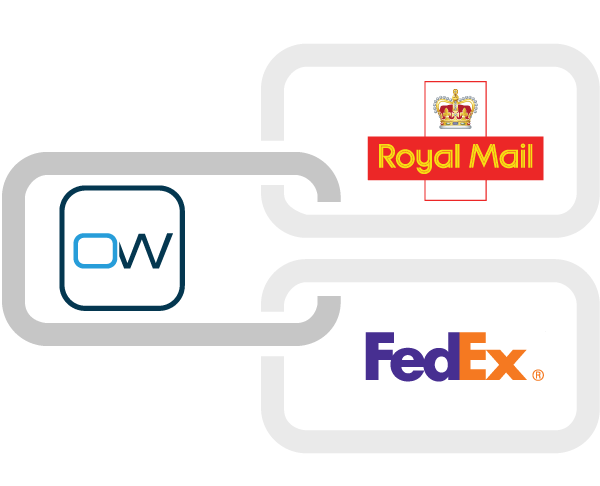 OrderWise Courier Integration to Royal Mail and FedEx